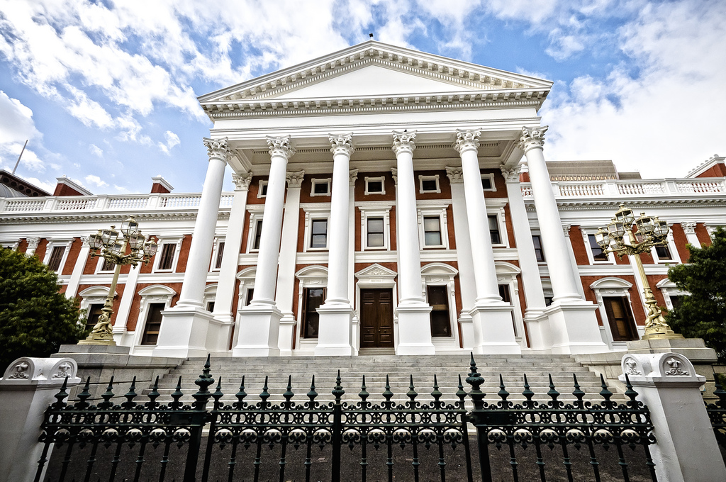 South African Parliament Photo Credit: https://www.flickr.com/photos/vicbergmann/
