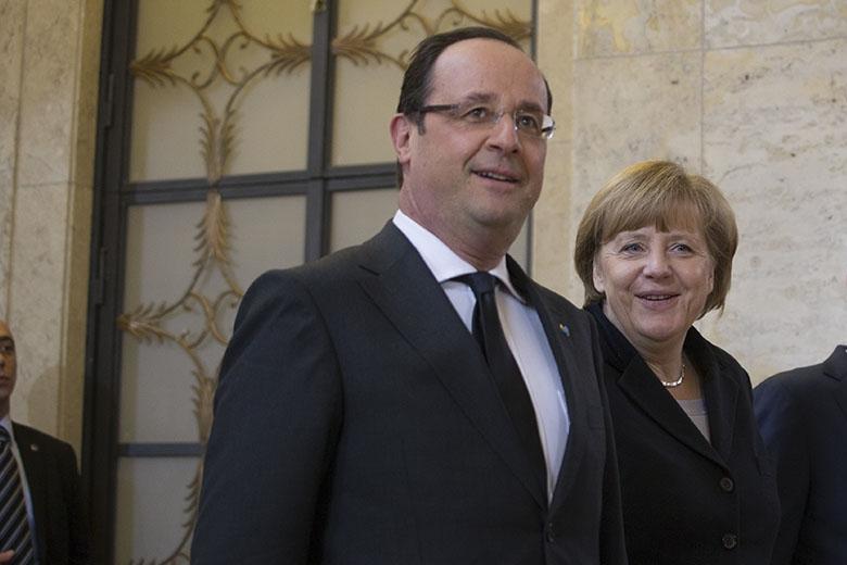 French President François Hollande and German Chancellor Angela Merkel (Source:flickr/kancelariapremiera)