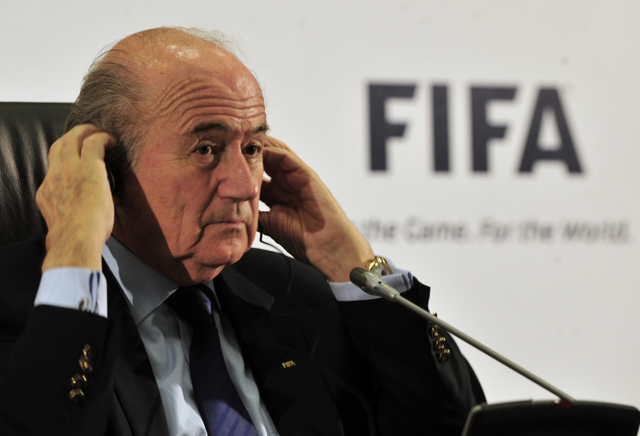 FIFA President Sepp Blatter at Johannesburg in 2010 (Image Source: Wikimedia Commons/Marcello Casal Jr.)