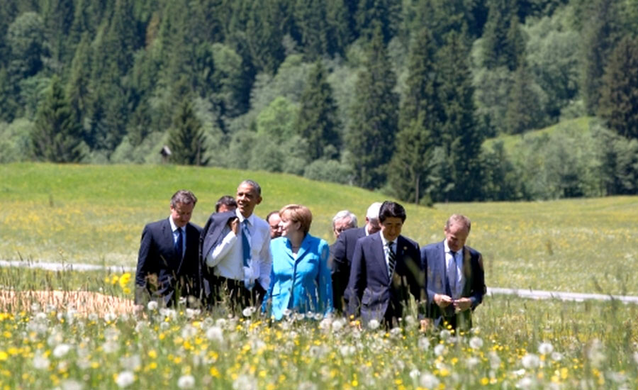 Leaders of the G7 Summit 2015 (Image Source: Wikimedia Commons/Pete Souza)