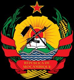 Emblem of Mozambique Image Source: Wikimedia Commons/ Jam123