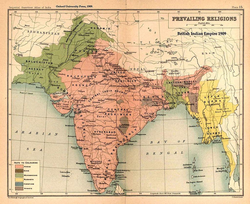 Image Source: Wikipedia/Two-nation_theory