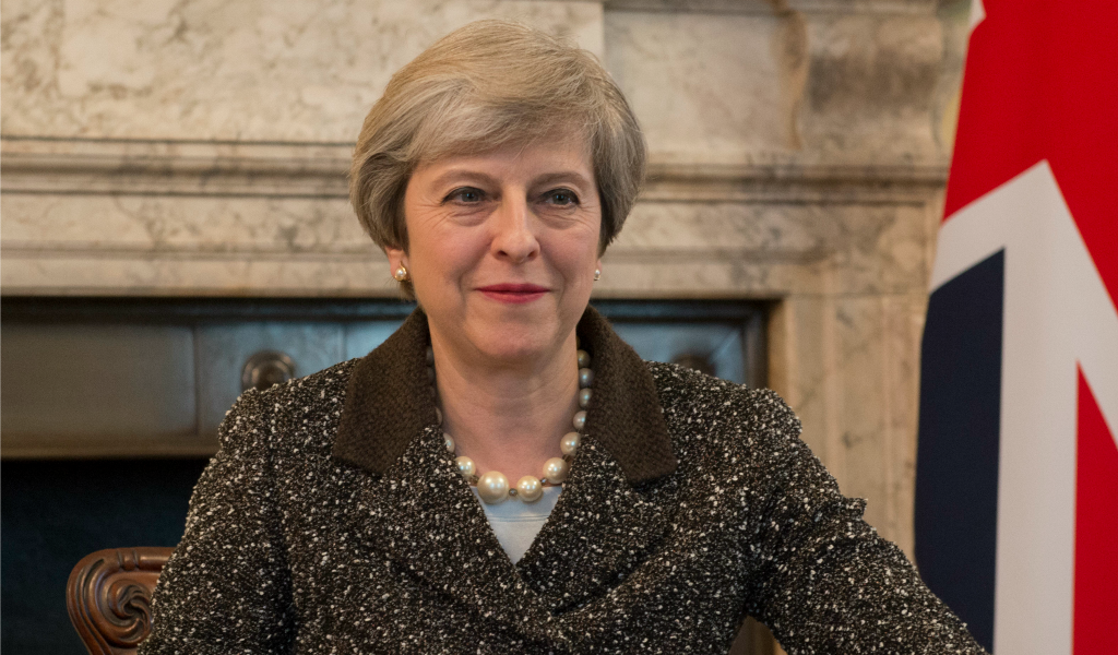 Theresa May. flickr/number10gov