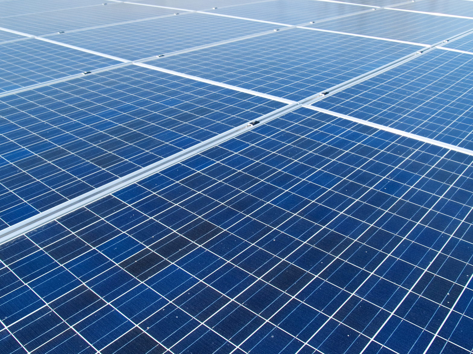 "Image: "" Solar Panels "" ( CC BY 2.0 ) by  Slimdandy"