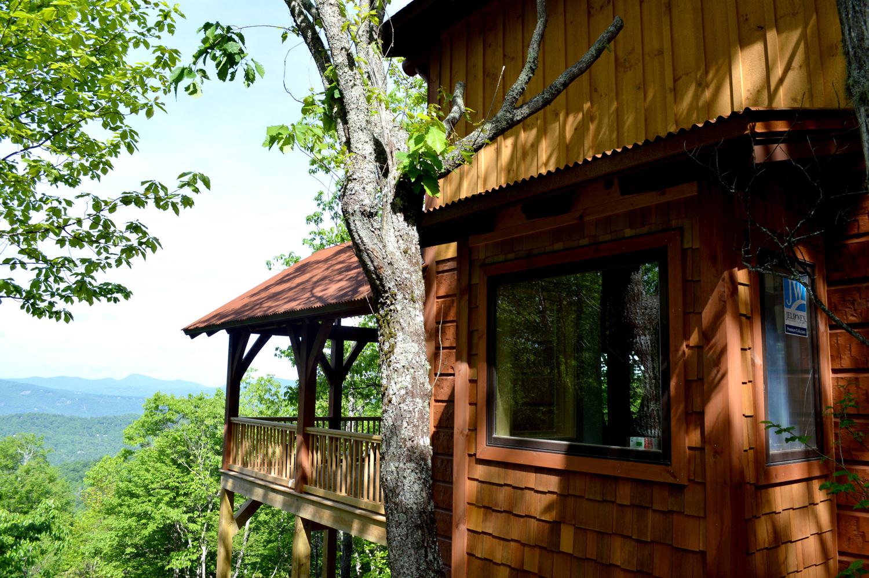 Click image to view home     The Falcon Ridge Home