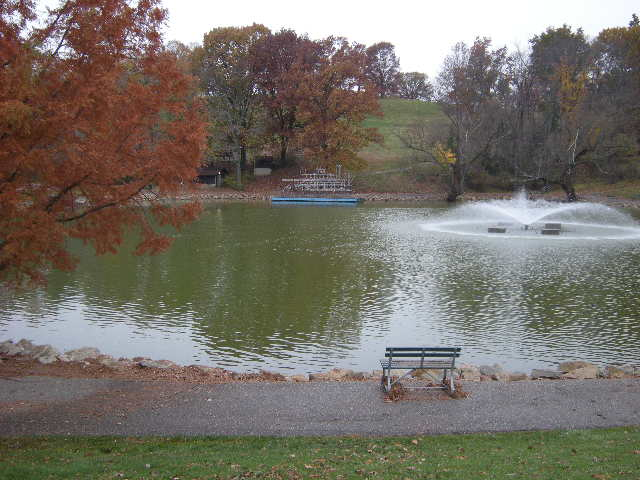 Oglebay Park is a lovely place with lots of room to walk and spend time in quiet reflection on this retreat.