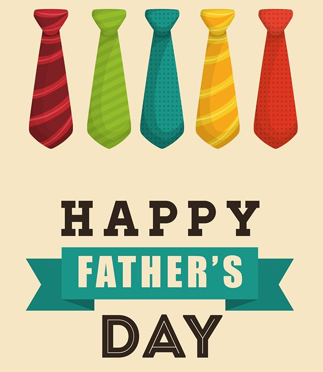 Happy Fathers' Day to all the dads out there and to those of you who fill a fathers' role in children's lives. Your influence and care are invaluable.