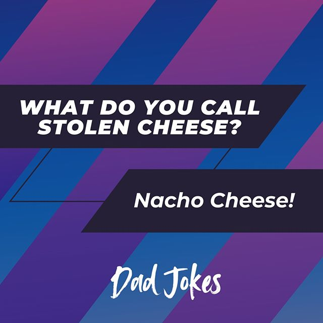 Dad Jokes - they all tell them, don't they? We love you, dads! Happy Fathers' Day