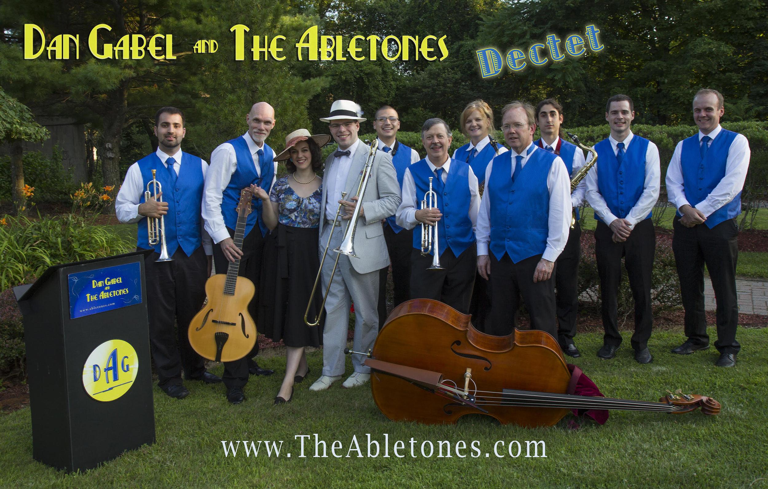 Dan Gabel and the Abletones Dectet promo.jpg