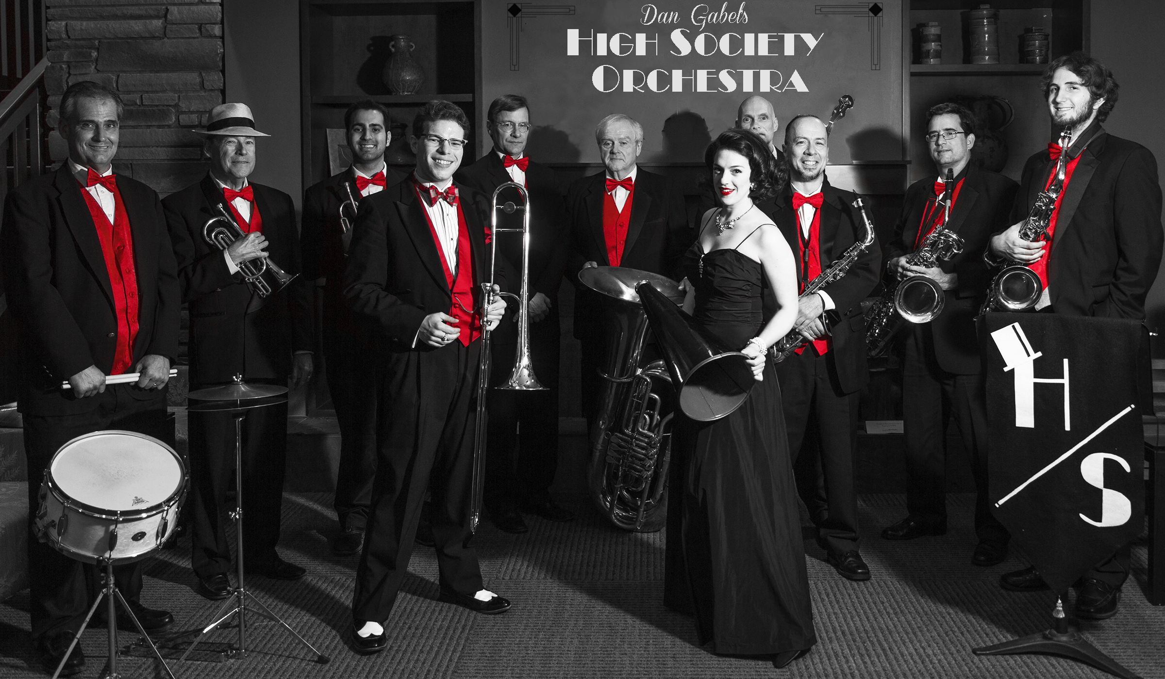 DG High Society Orchestra bw.jpg