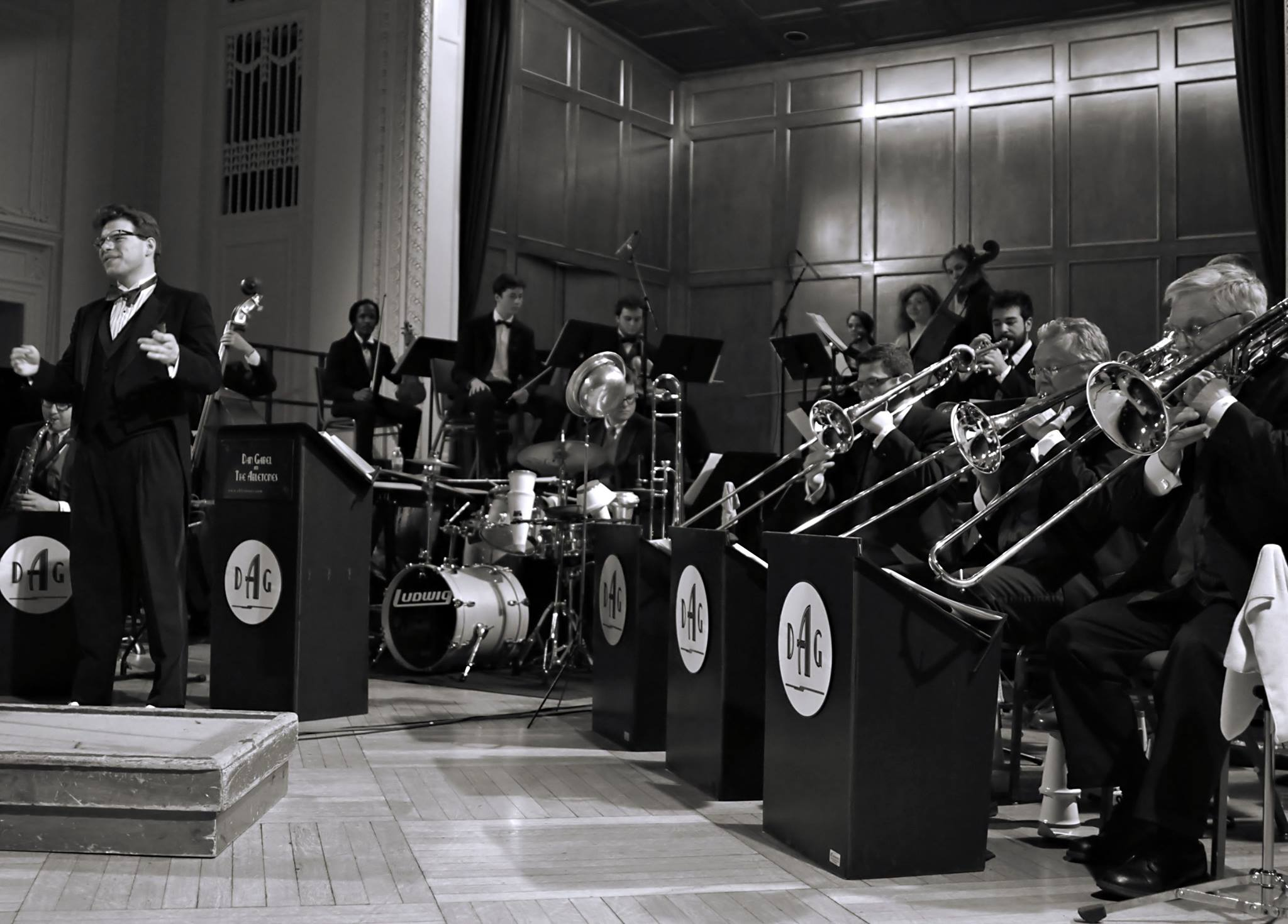 Dan Gabel's 2013 Master of Music recital at New England Conservatory featured the original scores from Vaughn Monroe's library. Performed by Gabel's big band, string section, and seven vocalists!