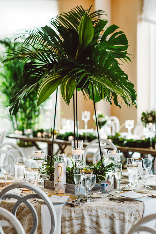 Organic, Metallic Yacht Club Wedding