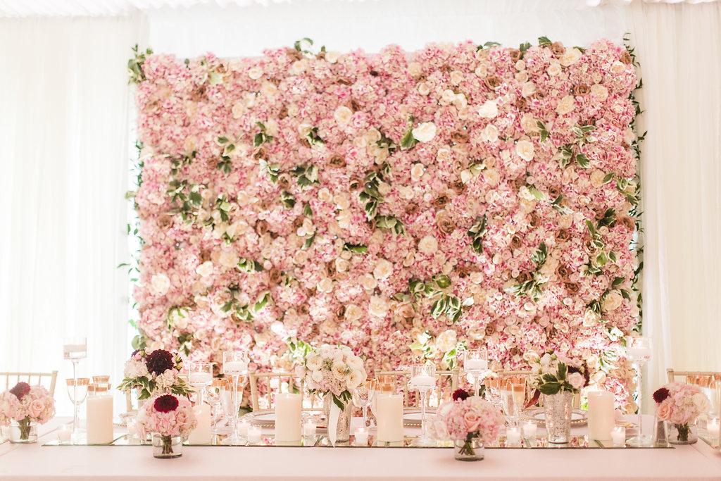 Floral Tent Wedding at Kirtland CC