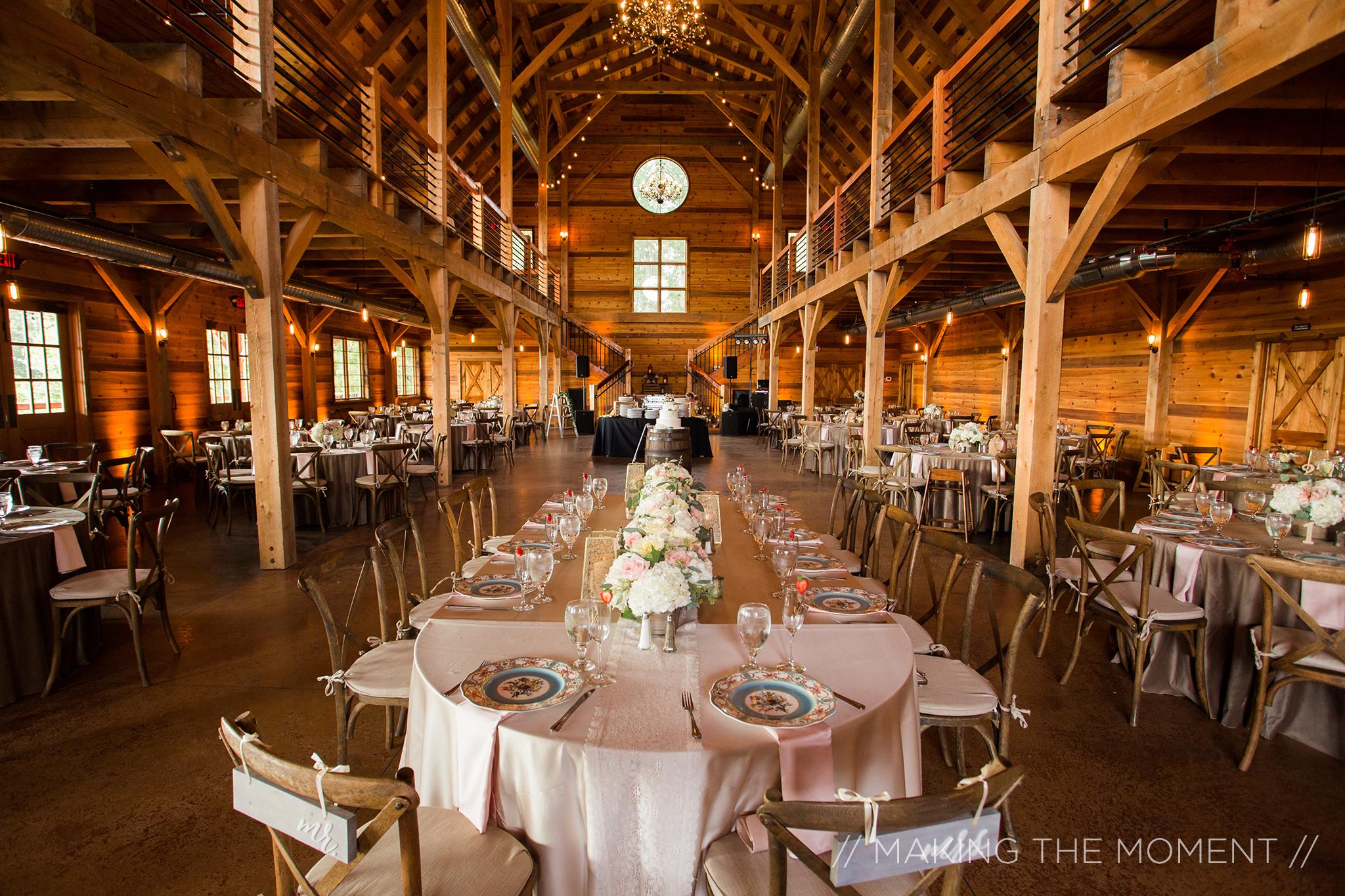 Rustic, Fall Barn Wedding