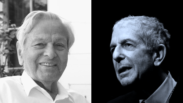 Arno Peters (1916 - 2002) and Leonard Cohen (1934 - 2016), now in dialogue for the first time