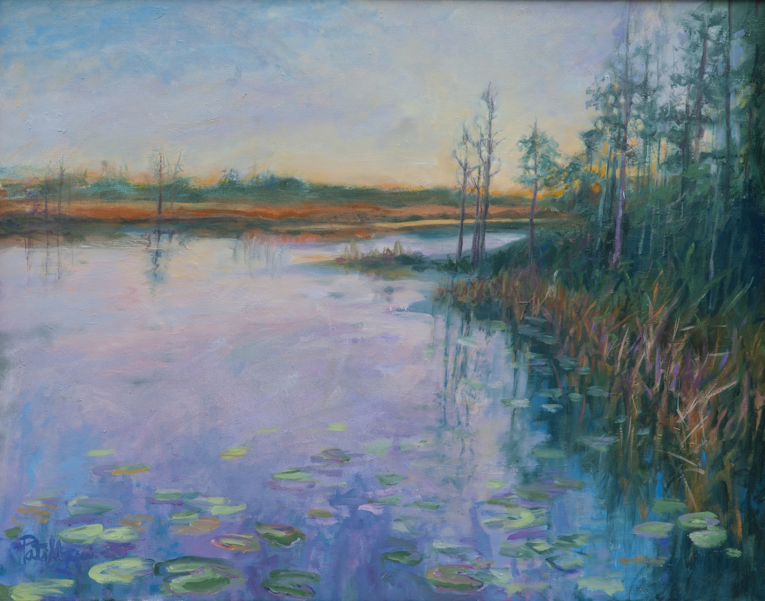 """""""Soft Morning"""" - oil on canvas-Pati Maguire"""