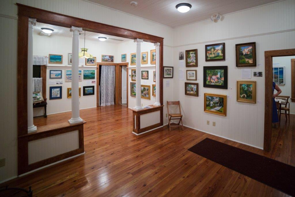Nostalgic Delray show at Cason Historic Cottage