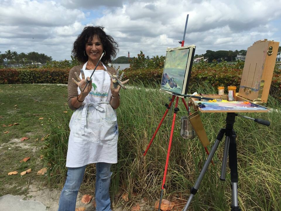 to Plein Air competitions.....
