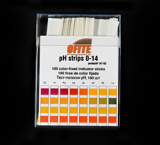 p  H Test Strips