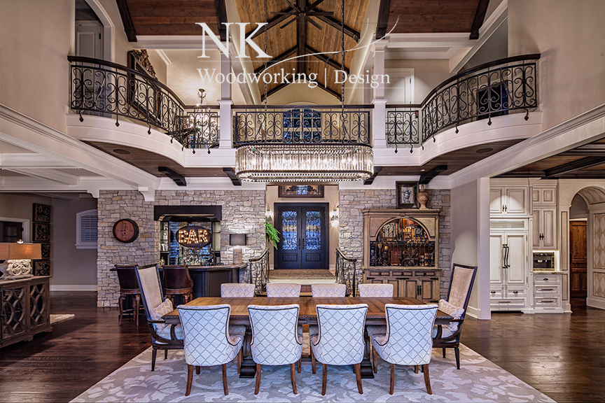 NK Woodworking Classical Stair 2.JPG