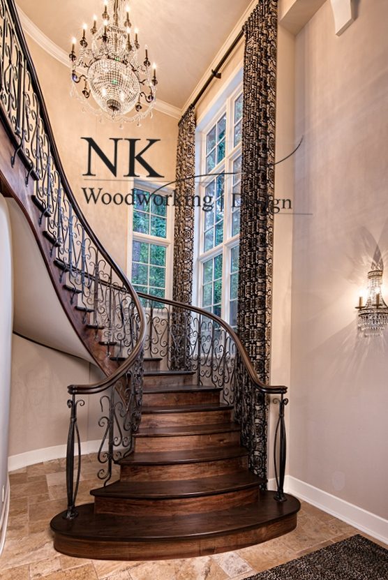 NK Woodworking Classical Stair 1.JPG