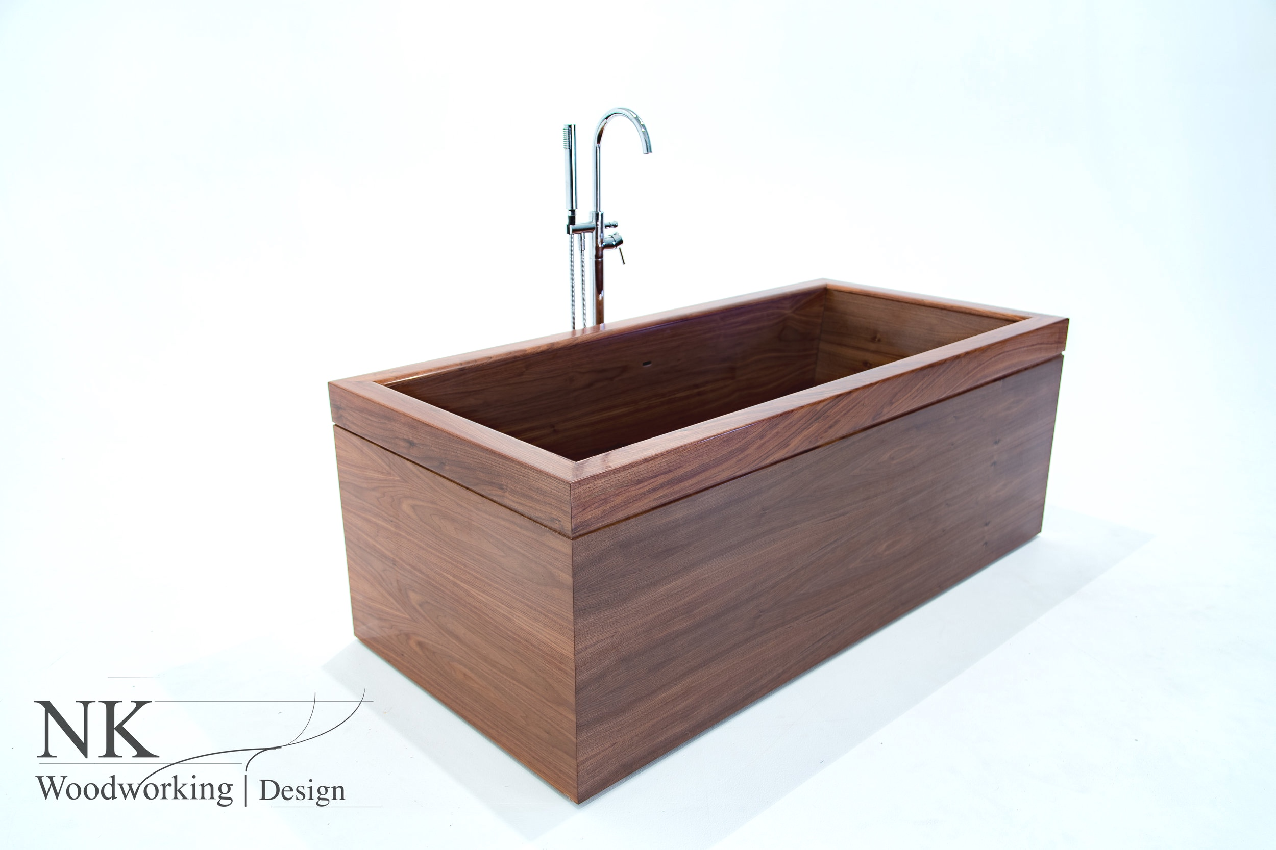 Wood Bathtubs Wooden Bath Sculpture By Nk Woodworking