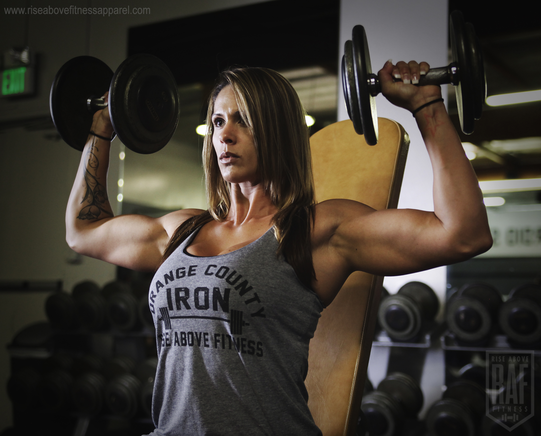 ORANGE COUNTY IRON Women's Racerback (BLACK ON GREY)_SHOOT.jpg