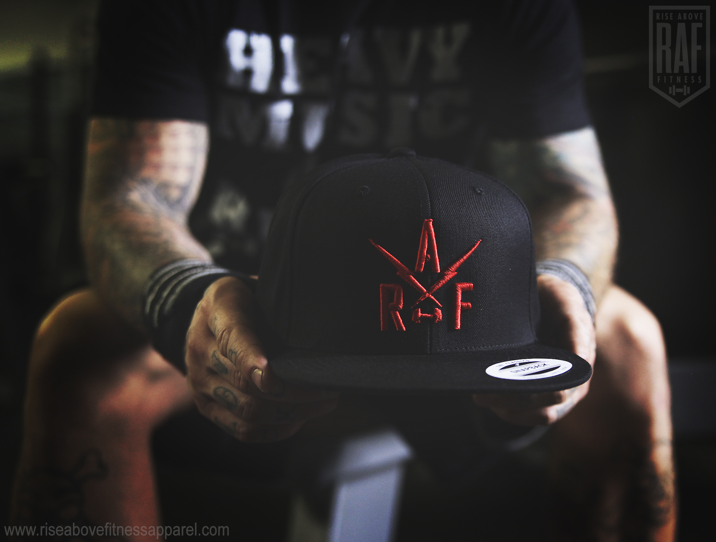 RAF BOLTS Snapback (RED EMBROIDERY) Back_SHOOT.jpg