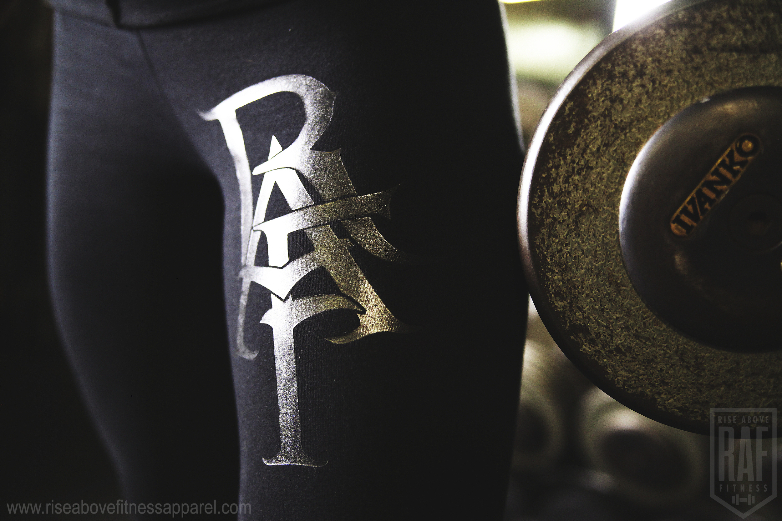RAF MONOGRAM Leggings (Black on Black)_SHOOT.jpg