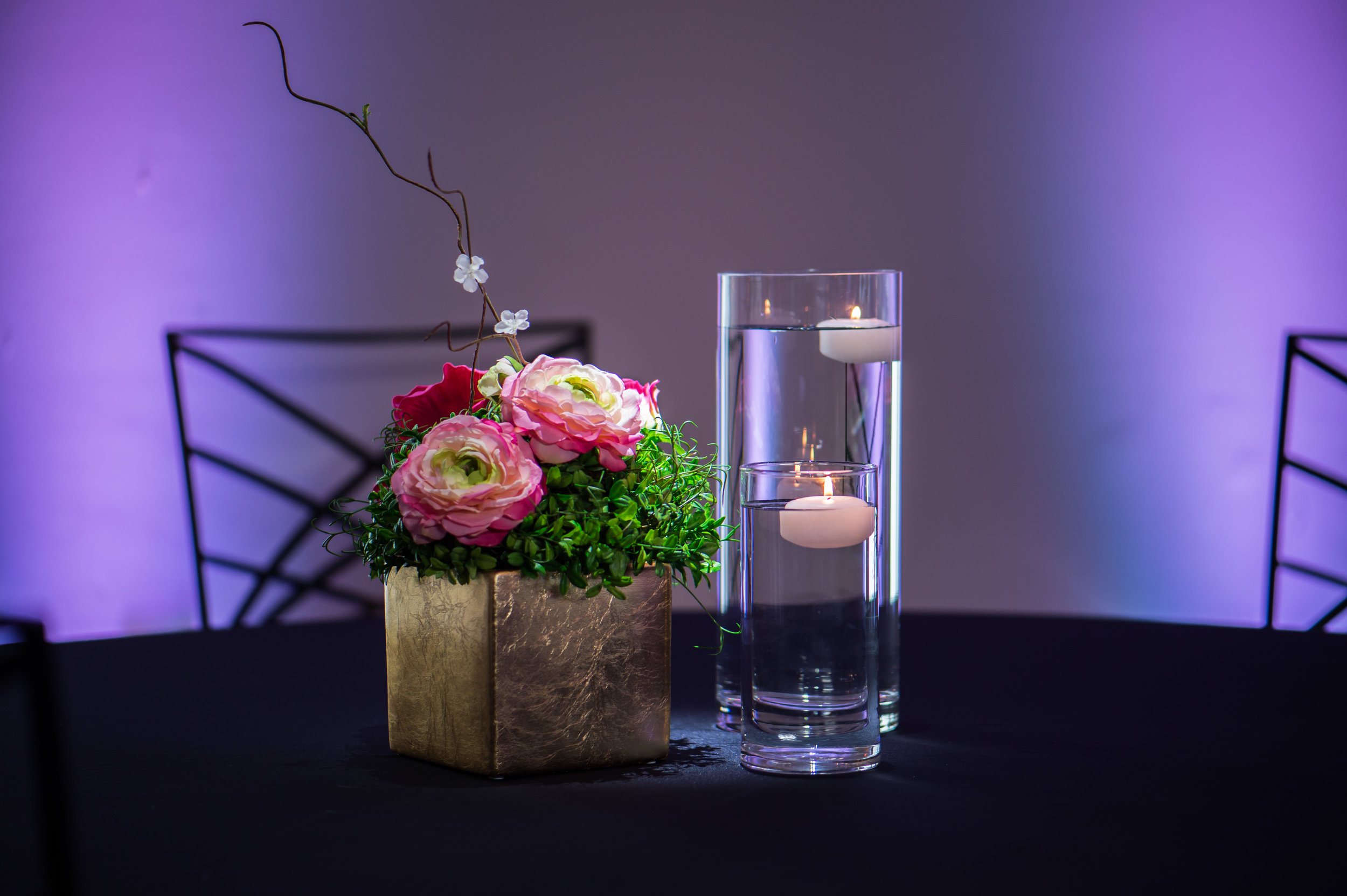 Gold Pink with Greenery Floating Candles.jpg