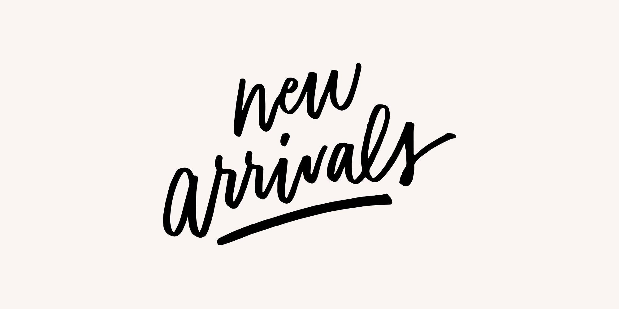 New Arrivals — Allison Cruzado