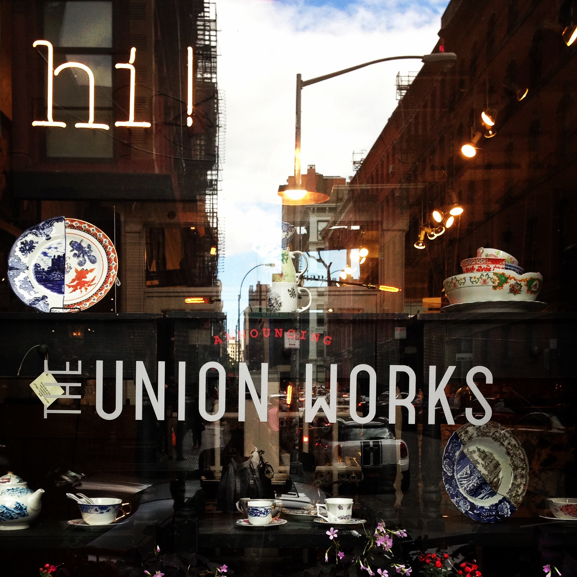 The Union Works Pop-Up Shop at Michele Varian