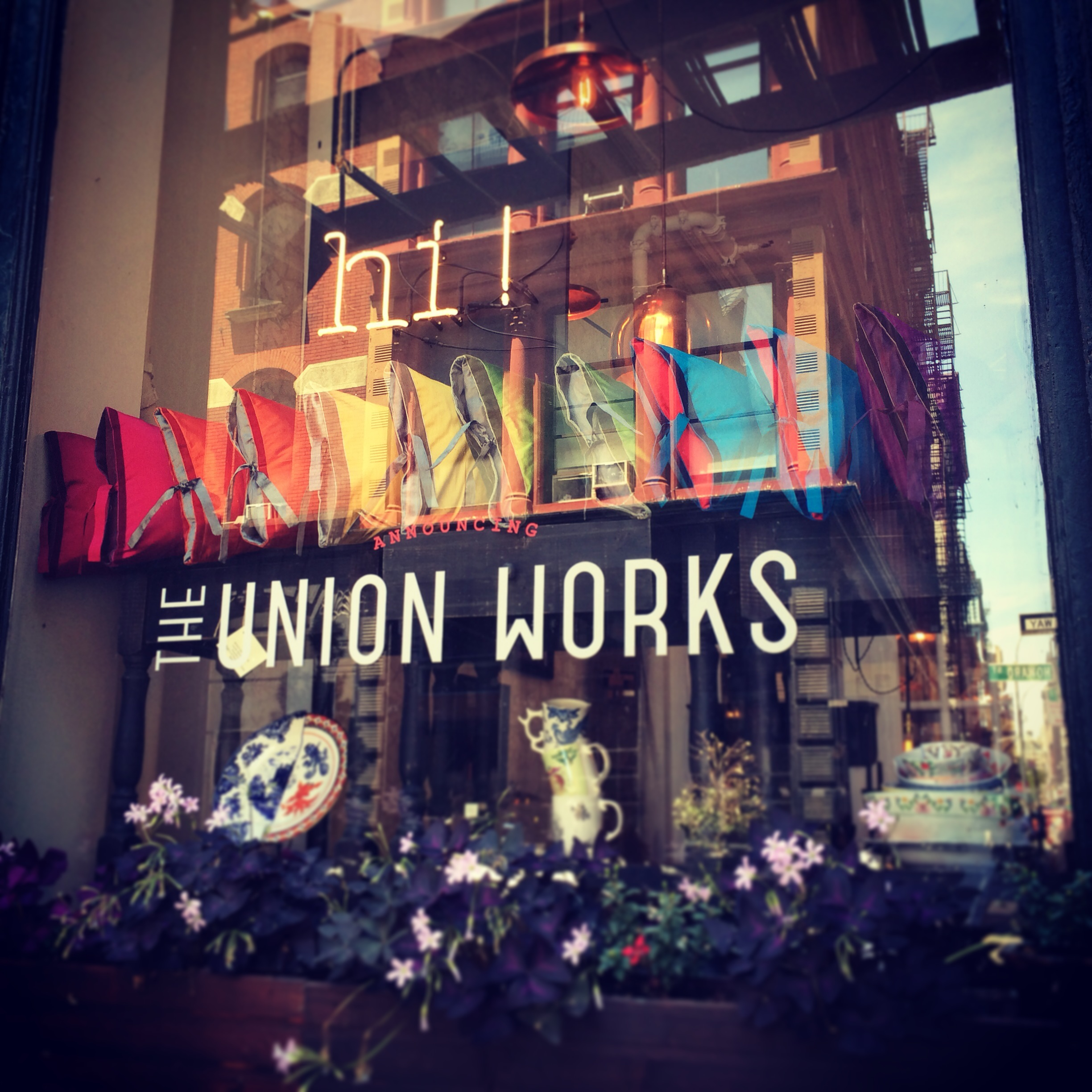 The Union Works NYC Pop-up Shop
