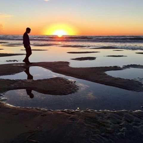 Happiness is where you are! 🌴🌴 @cashin_photography #encinitas #northcounty #cardiffbythesea #leucadia #happinesiswhereyouare #republicofencinitas