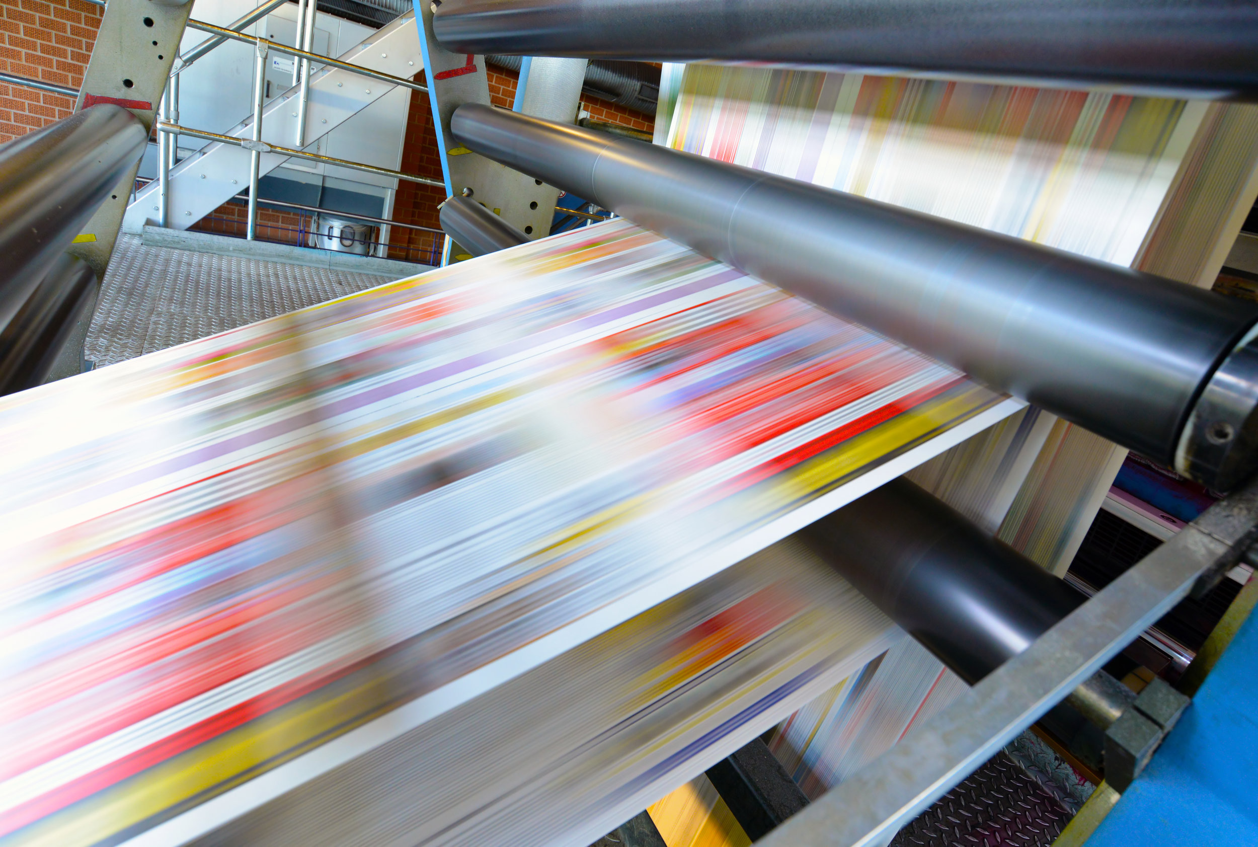 Print - Whether it's bulk printing or small runs, Responsive Mailing Inc., is set up to do either to meet all of our clients needs. We print everything from business cards, postcards, letters, and envelopes to magazines, newsletters, brochures and other publications.