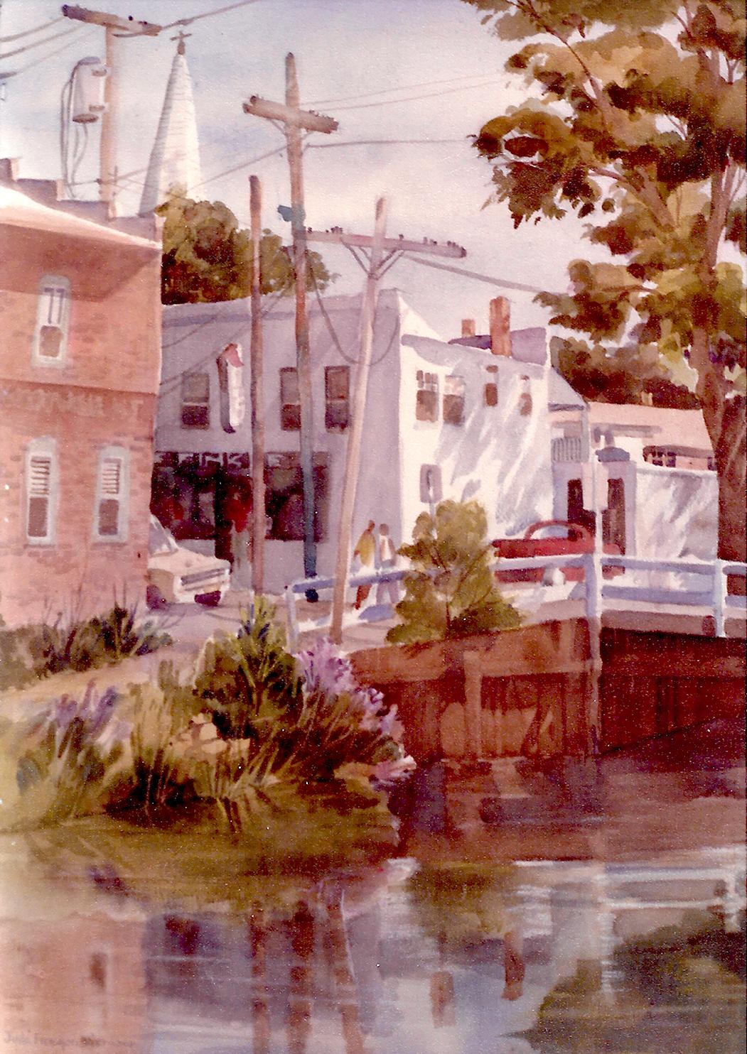 Delaware Canal, Lambertville, New Jersey