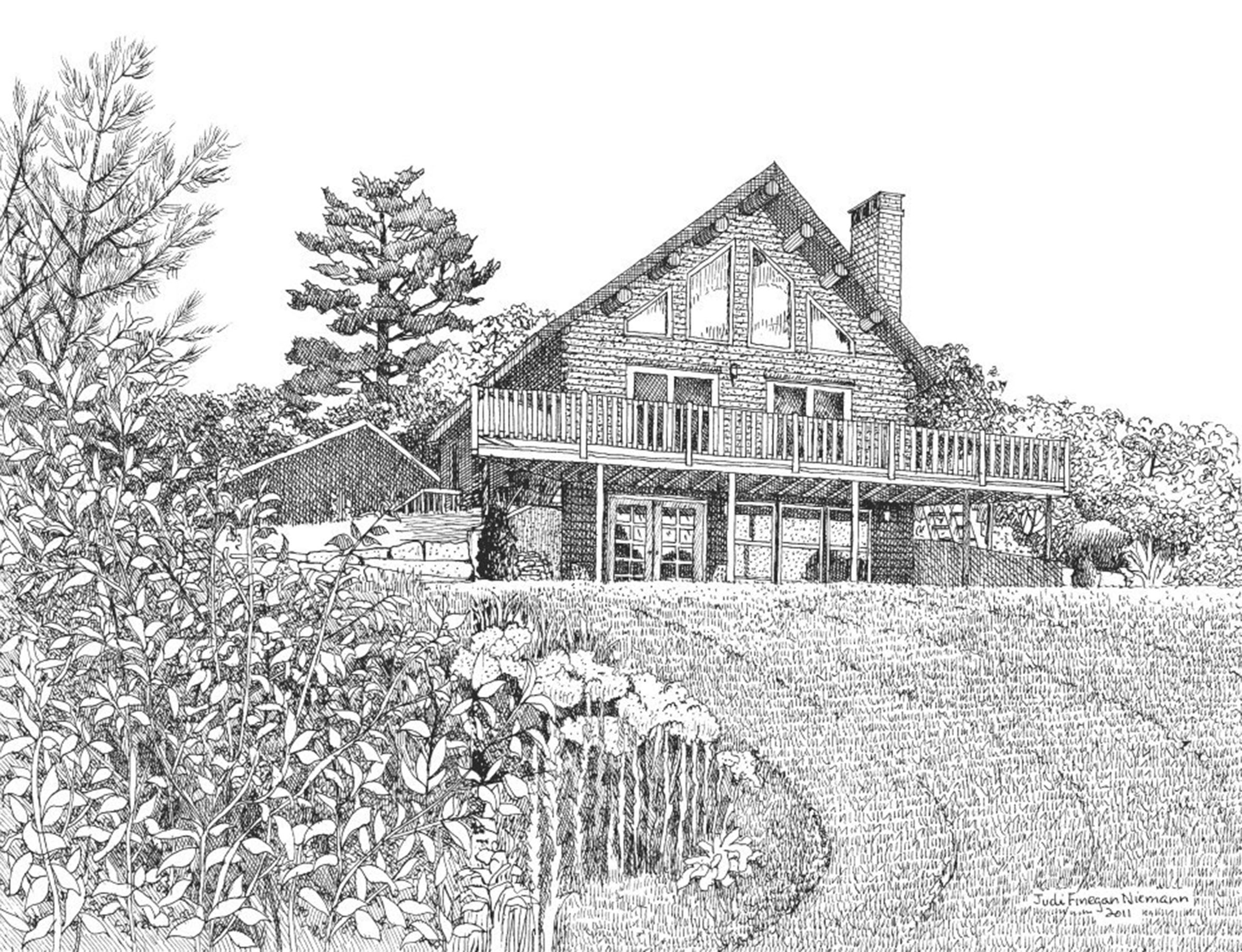 Jay's House, Freeport, Maine