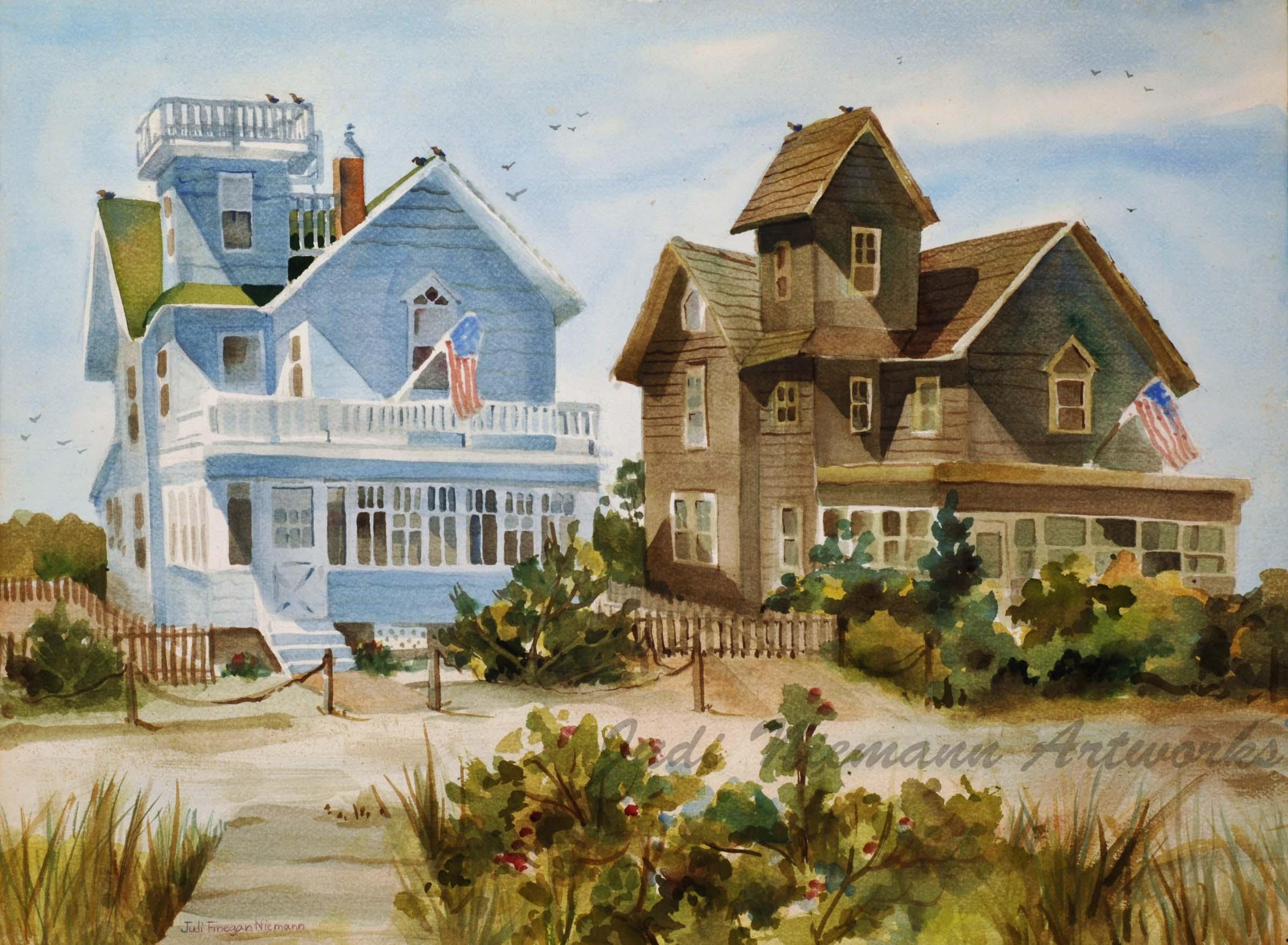 Twin Houses, Barnegat Light, NJ