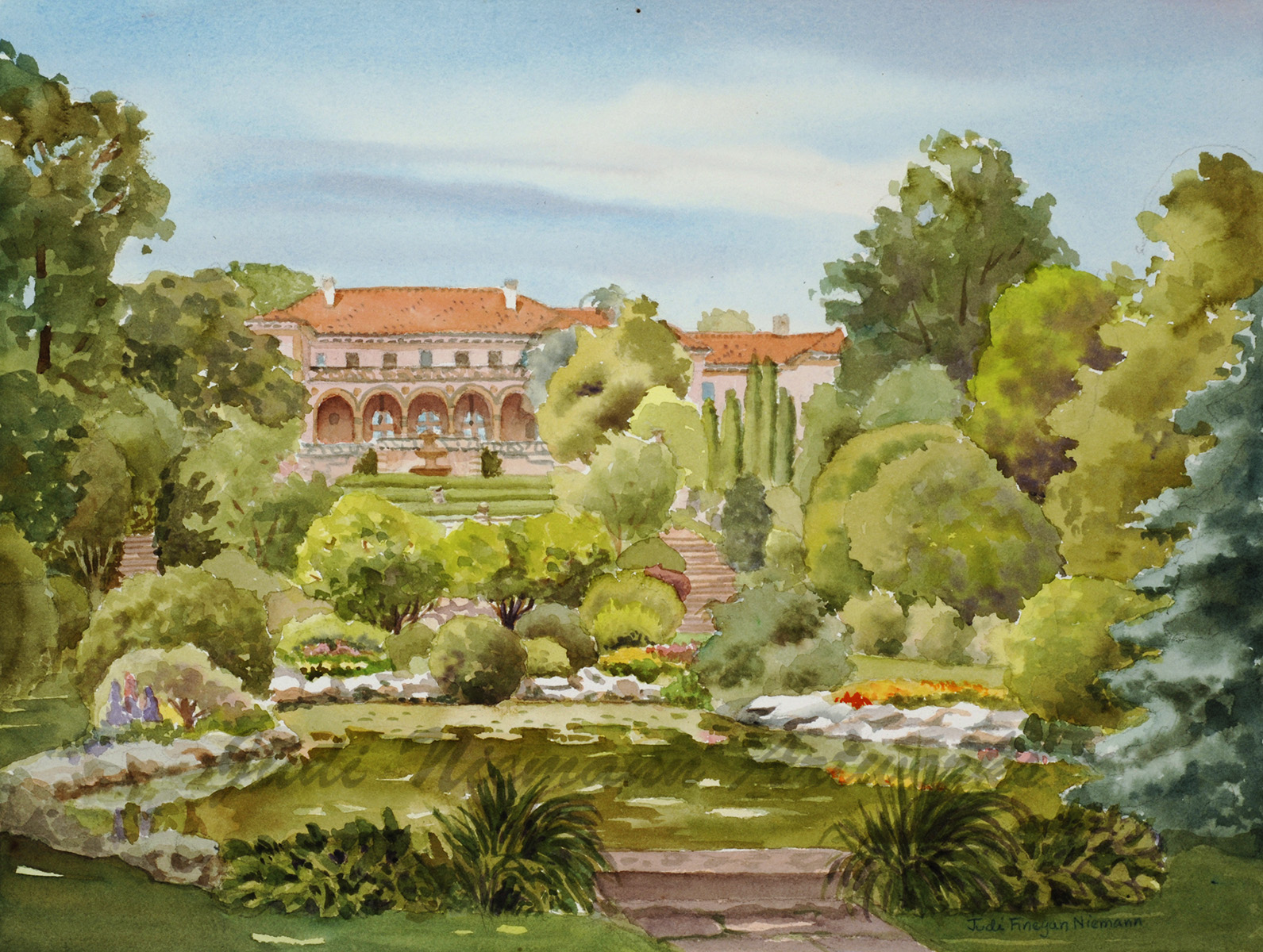 Phillbrook Museum of Art Gardens, Tulsa, OK