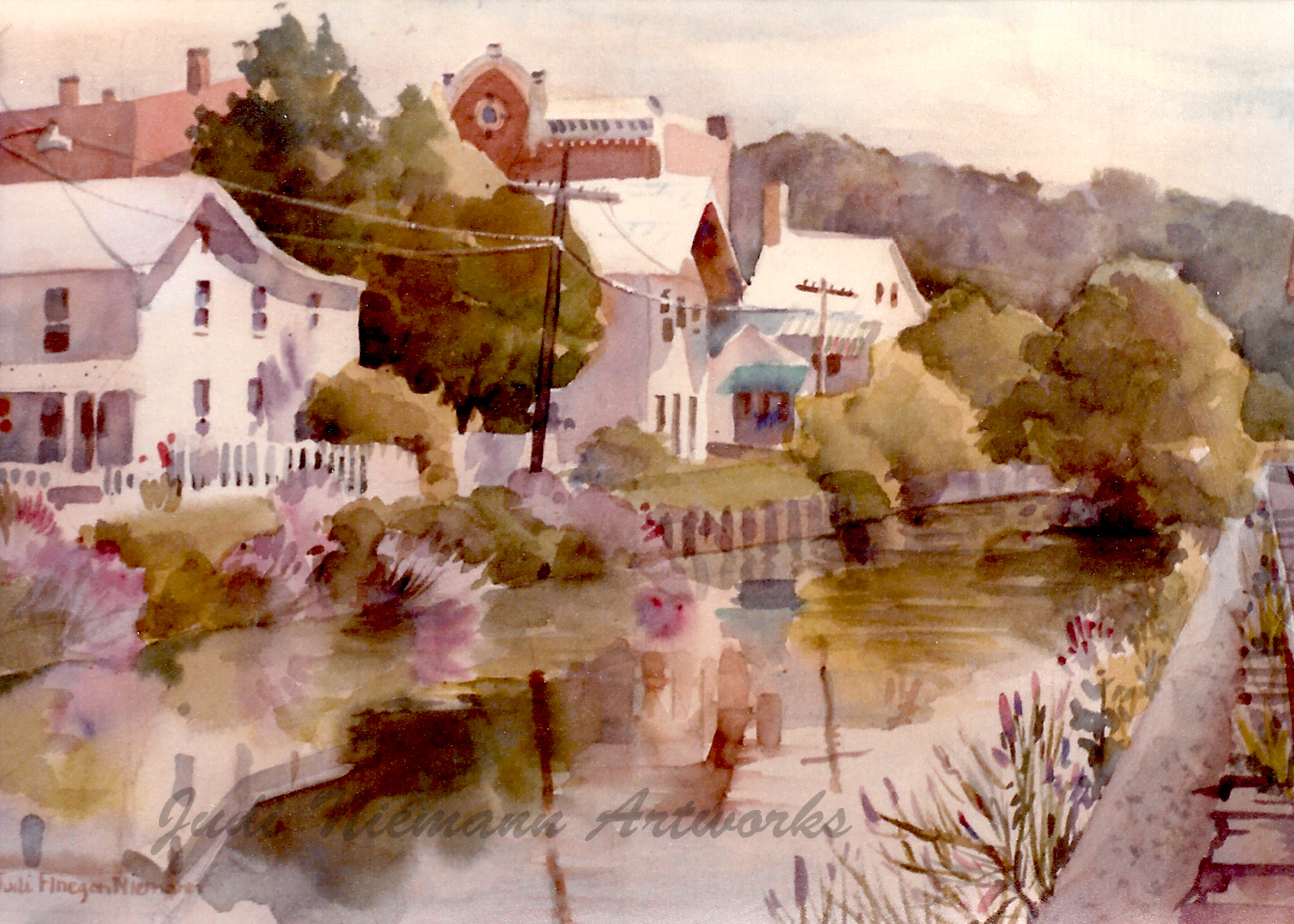 Canal at Lambertville, New Jersey