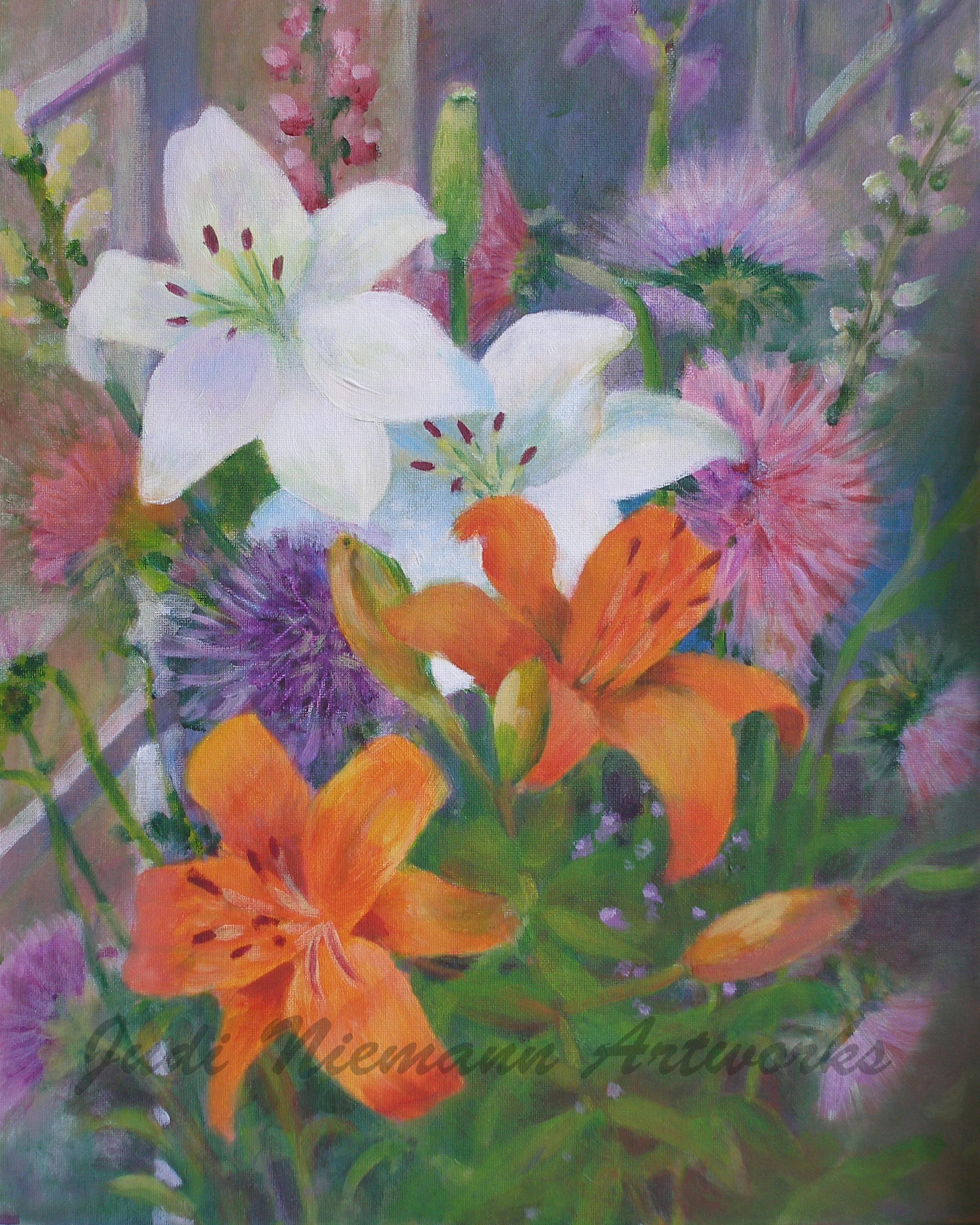 Senior Day Bouquet