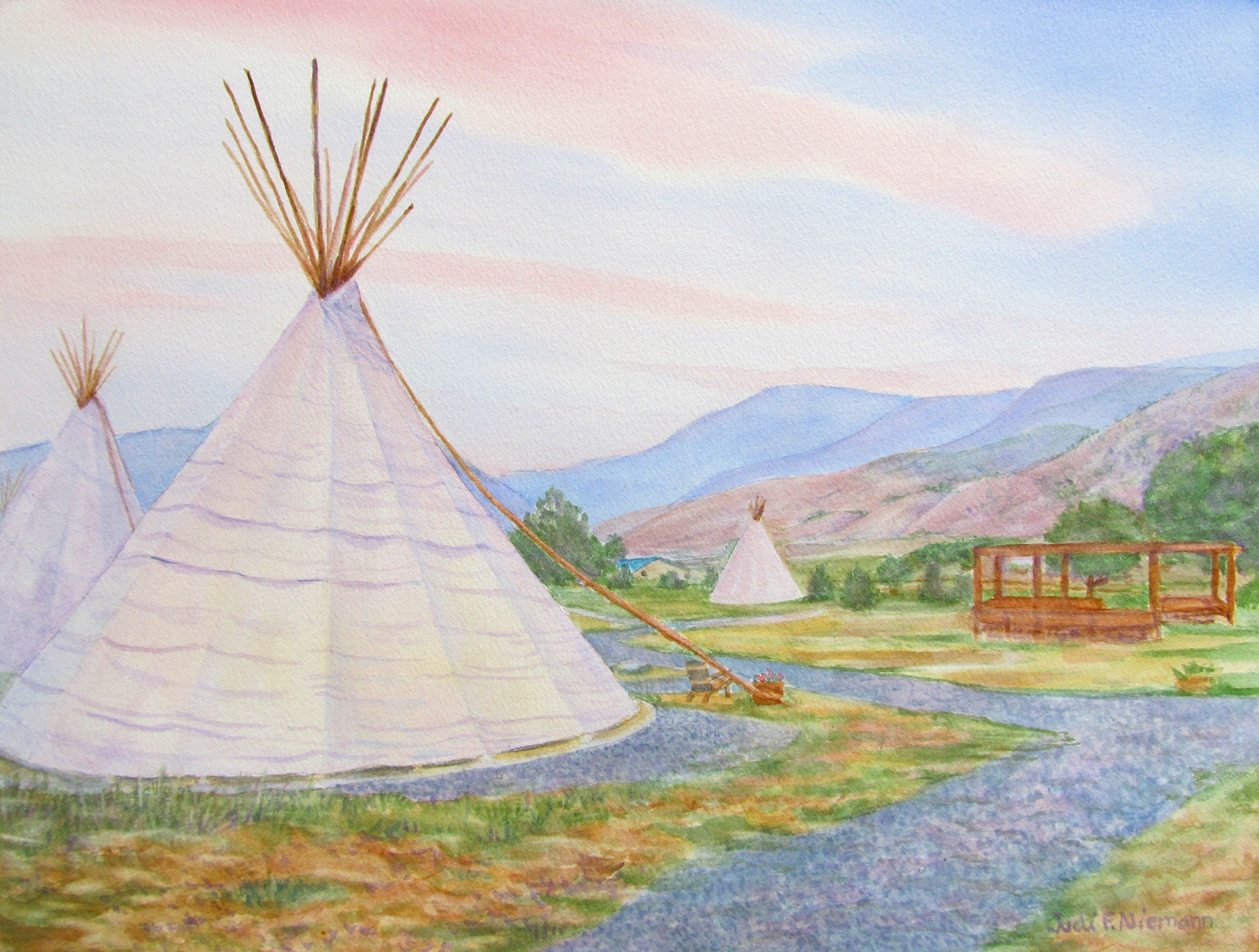 Dreamcatcher Tipi Hotel, Yellowstone