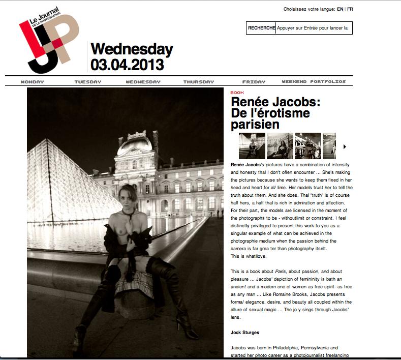 LA JOURNAL DE LA PHOTOGRAPHIE