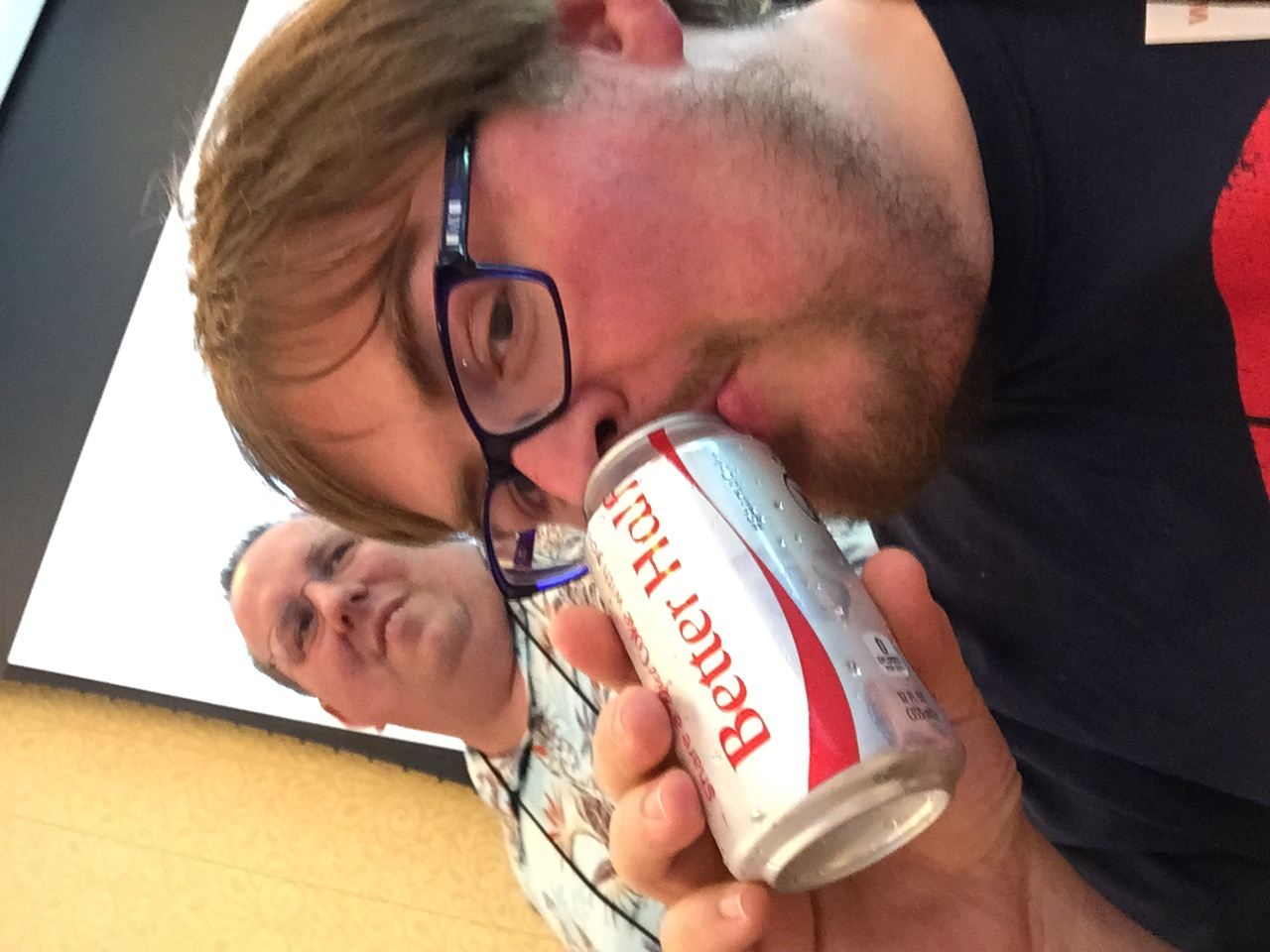 Just a little soda to get through the meetings.