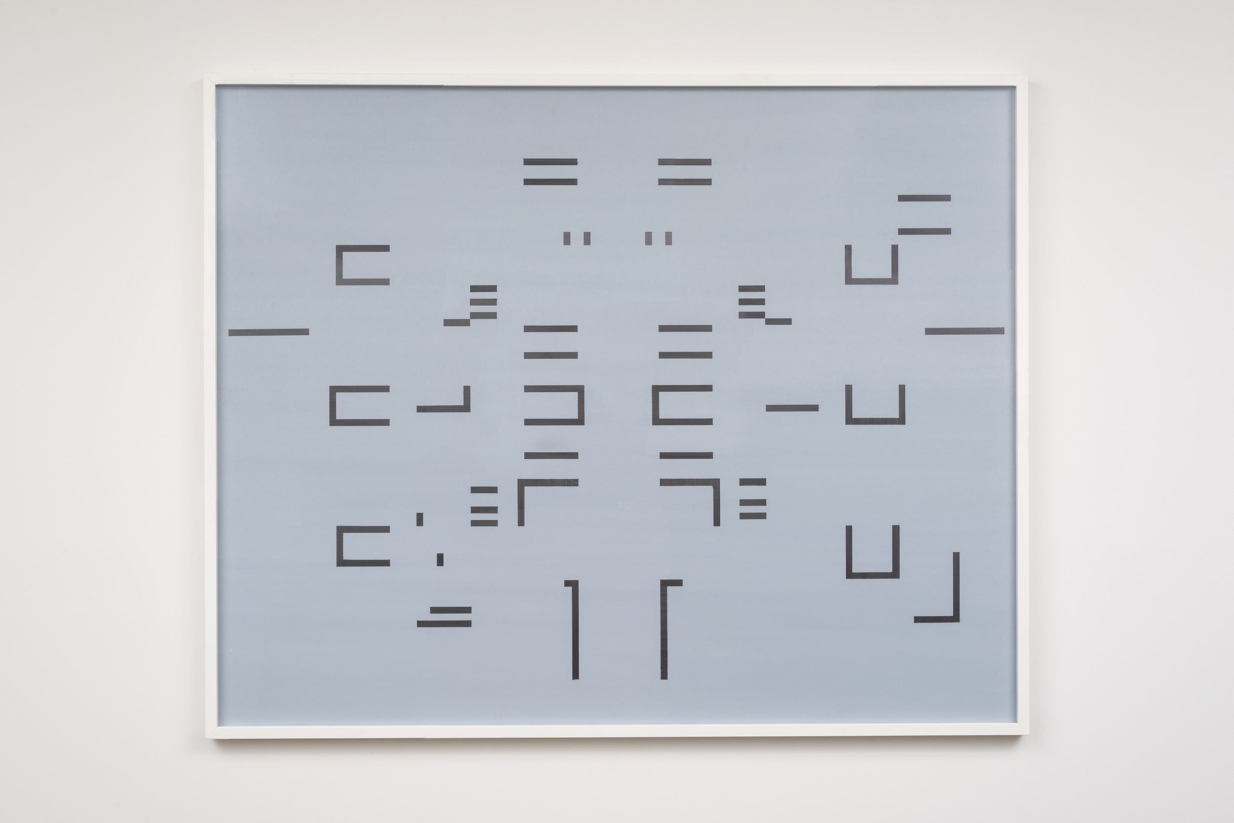 Joseph Huppert, Untitled V  , 2015,   graphite on mylar,  40 x 60 inches