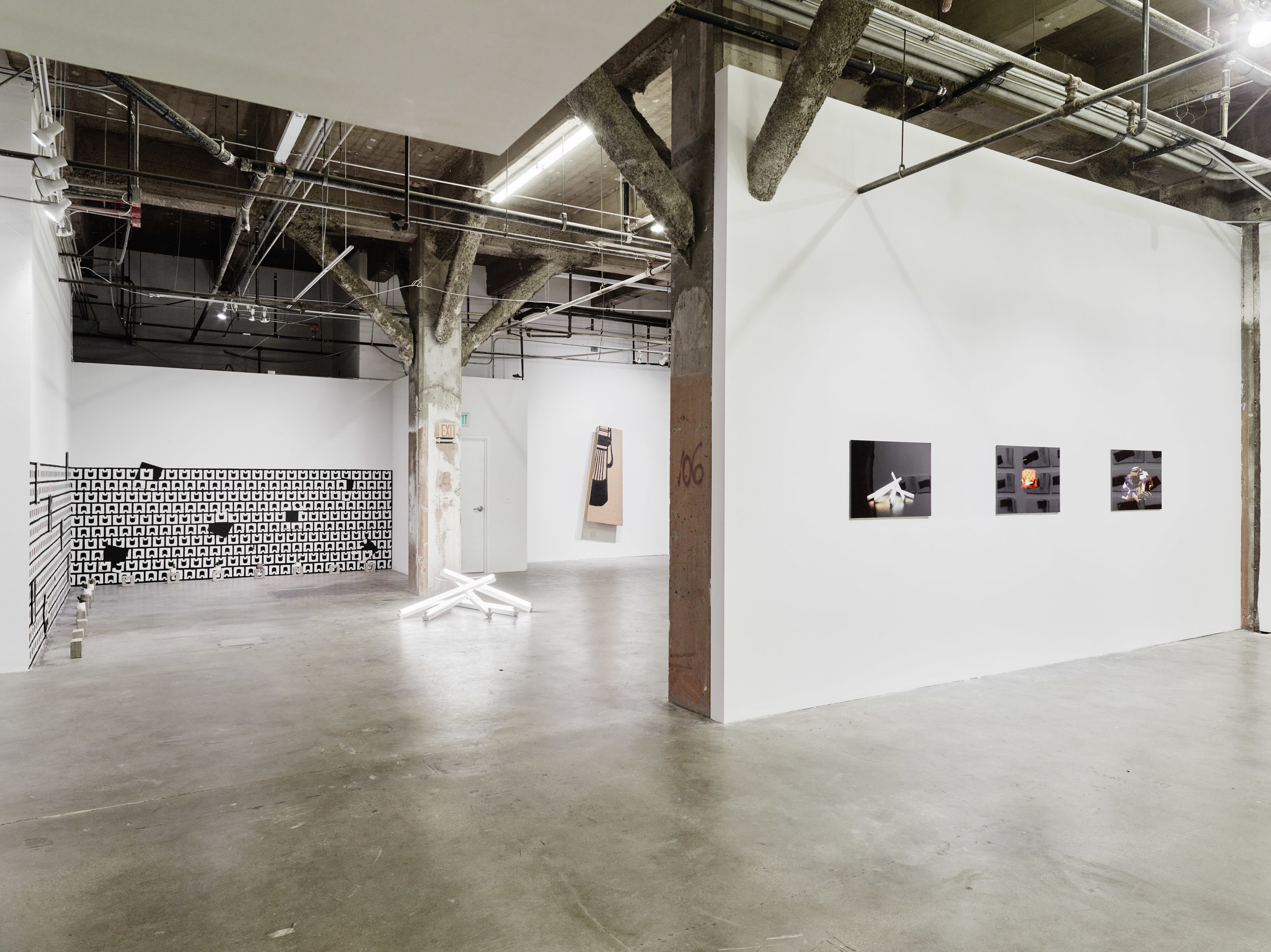 Installation view:  All Soul, No Body