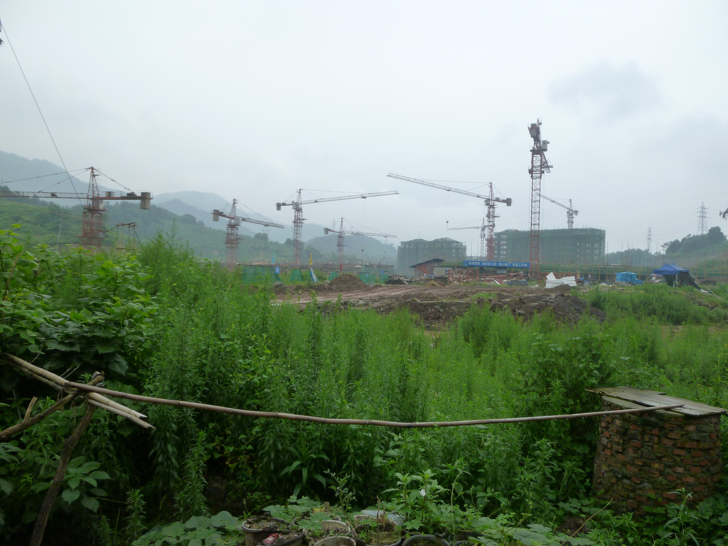 Hailong Village in Chongqing. Will grassroots village development be supported under China's urbanization plan?