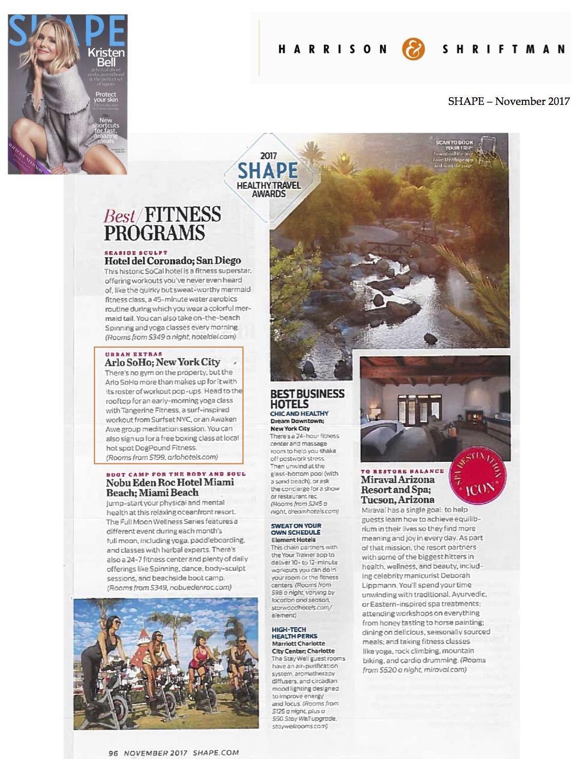Copy of Copy of Shape Magazine