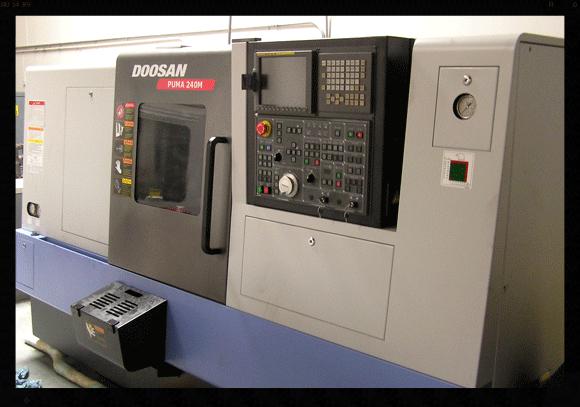 2007 Doosan Puma  240 MP Turn-Mill Combine