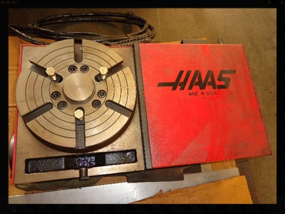 """Haas HRT-210  8"""" Programmable Rotary Table"""
